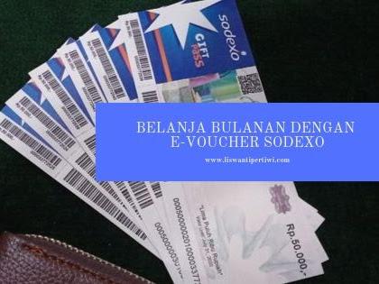 Belanja Bulanan Dengan E-Voucher Sodexo