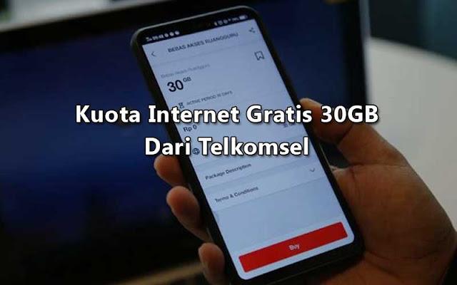 Gratis! Telkomsel Beri Kuota Internet 30GB untuk Belajar di Rumah
