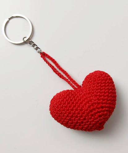 Porta chaves de Coração