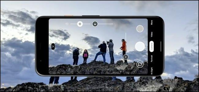 كاميرا جوجل بيكسل HDR
