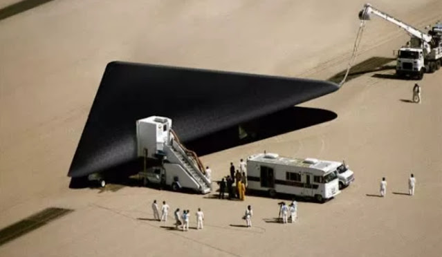 The TR-3B craft is a real aircraft in use by the US government.