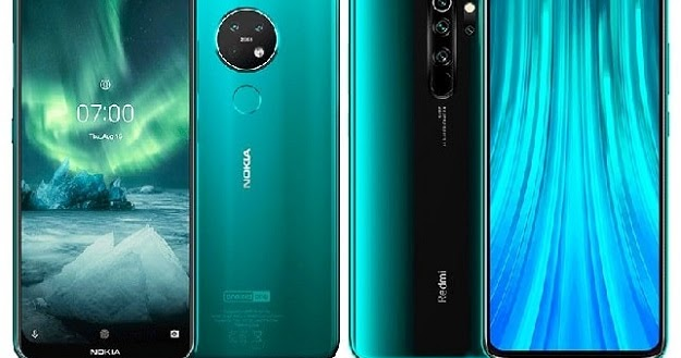 Nokia 7.2 Vs Xiaomi Redmi Note 8 Specs Comparison