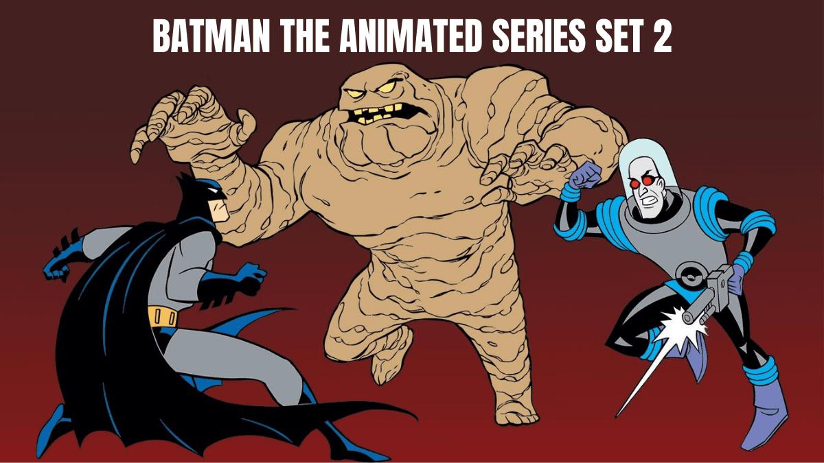 batman the animated series figurines set 2