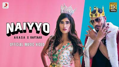 Presenting latest Punjabi-Hindi song Naiyyo lyrics penned by Raftaar (Dilin Nair). Naiyyo song is sung by Akasa & Raftaar. Checkout Naiyo lyrics