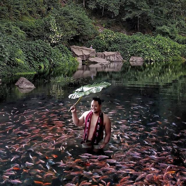 Terapi Ikan di Telaga Madirda