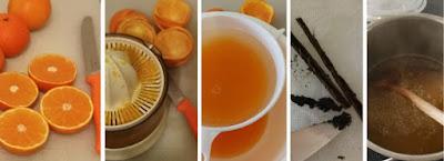 Zubereitung Mandarinen-Vanille-Marmelade