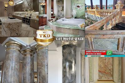 CAT MOTIF WASH - HARGA MURAH