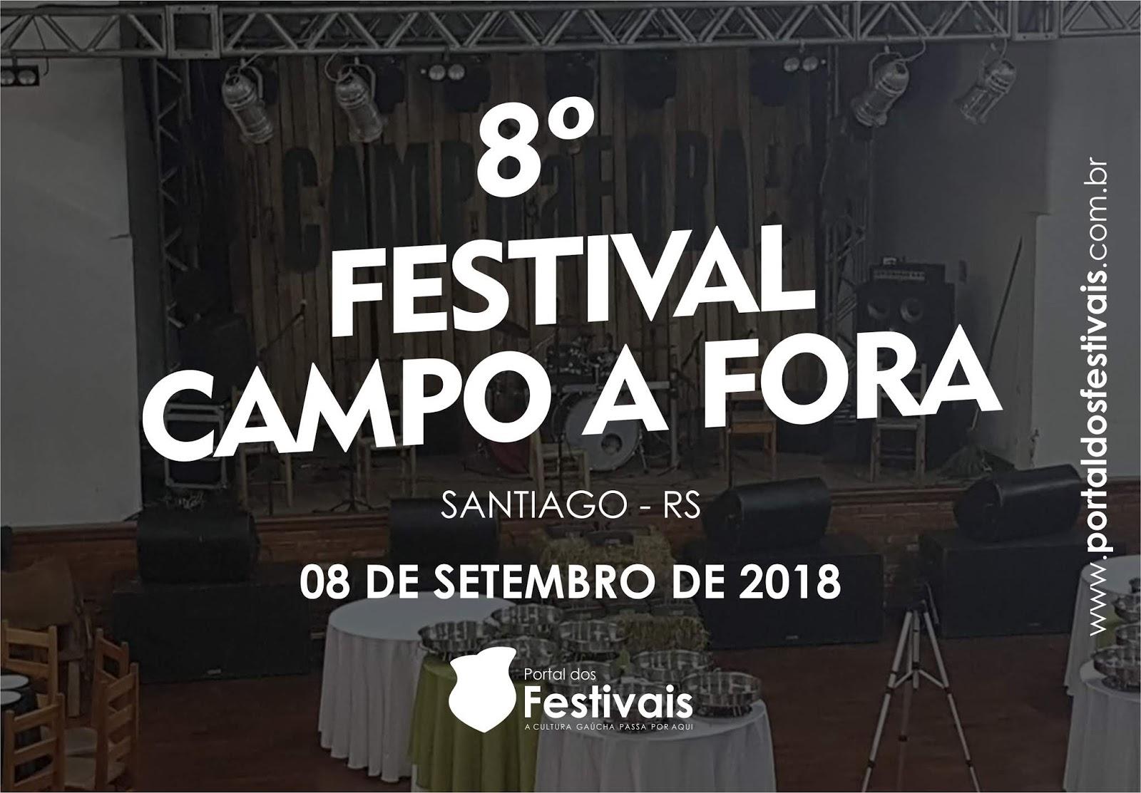 Abertas as inscrições para a 8ª edição do Festival Campo a Fora
