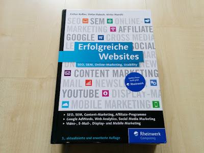 """Was bietet das Online-Marketing-Fachbuch """"Erfolgreiche Websites""""?"""