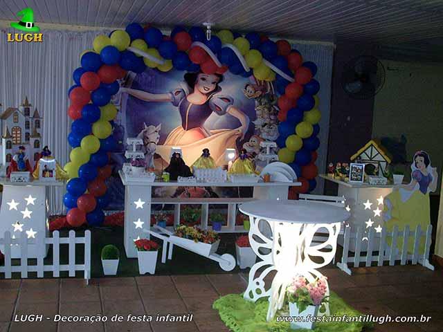 Decoração infantil Branca de Neve - Provençal luxo