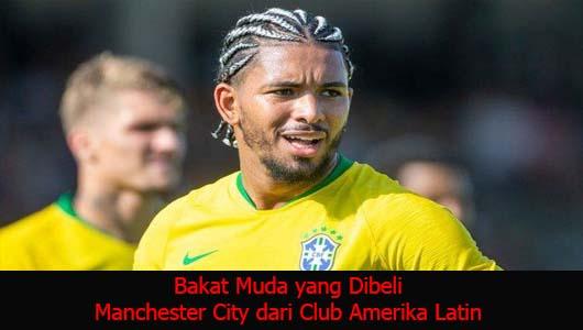 Bakat Muda yang Dibeli Manchester City dari Club Amerika Latin