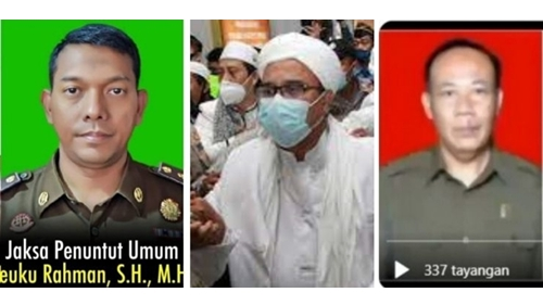Gawat! 12 Jaksa Diburu Pendukung Habib Rizieq, Hakim Disumpahi Masuk Neraka Jahanam