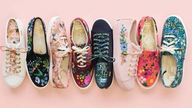 Style Warna Sepatu Sneaker Ala Tahun 80-an