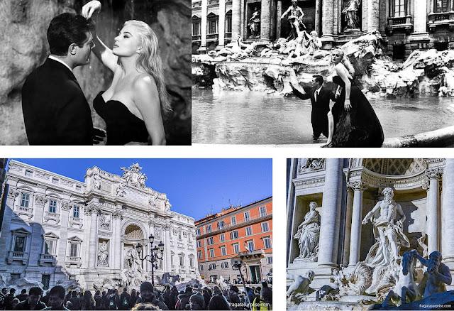 """Roma: A Fontana de Trevi e o filme """"A Doce Vida"""""""