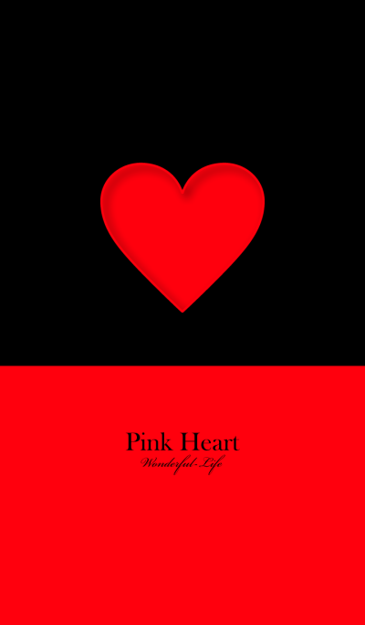 Simple Pink Heart 2