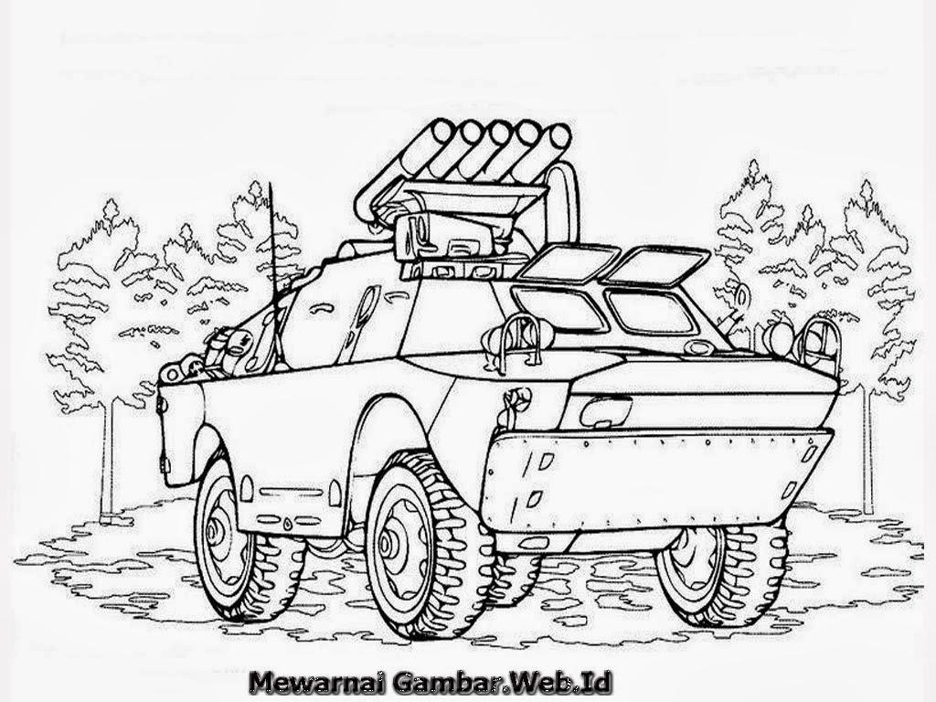 Gambar Gambar Sketsa Mobil Tank 28 Images Mewarnai Tenk Di