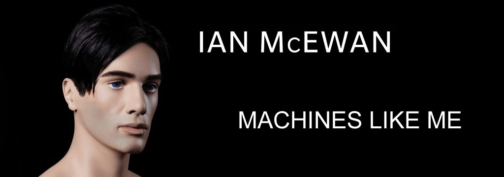 The cover of Ian McEwan's book Machines Like Me