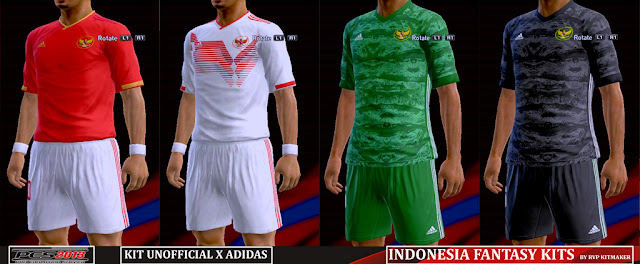 PES 2013 Indonesia Fantasy Kits 2019