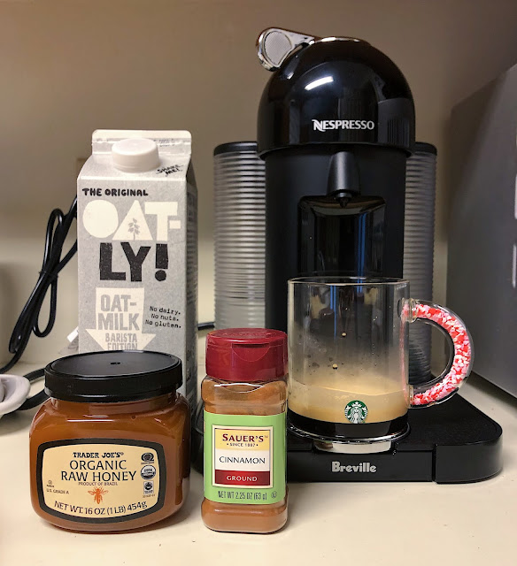 How To Make A Honey Cinnamon Latte