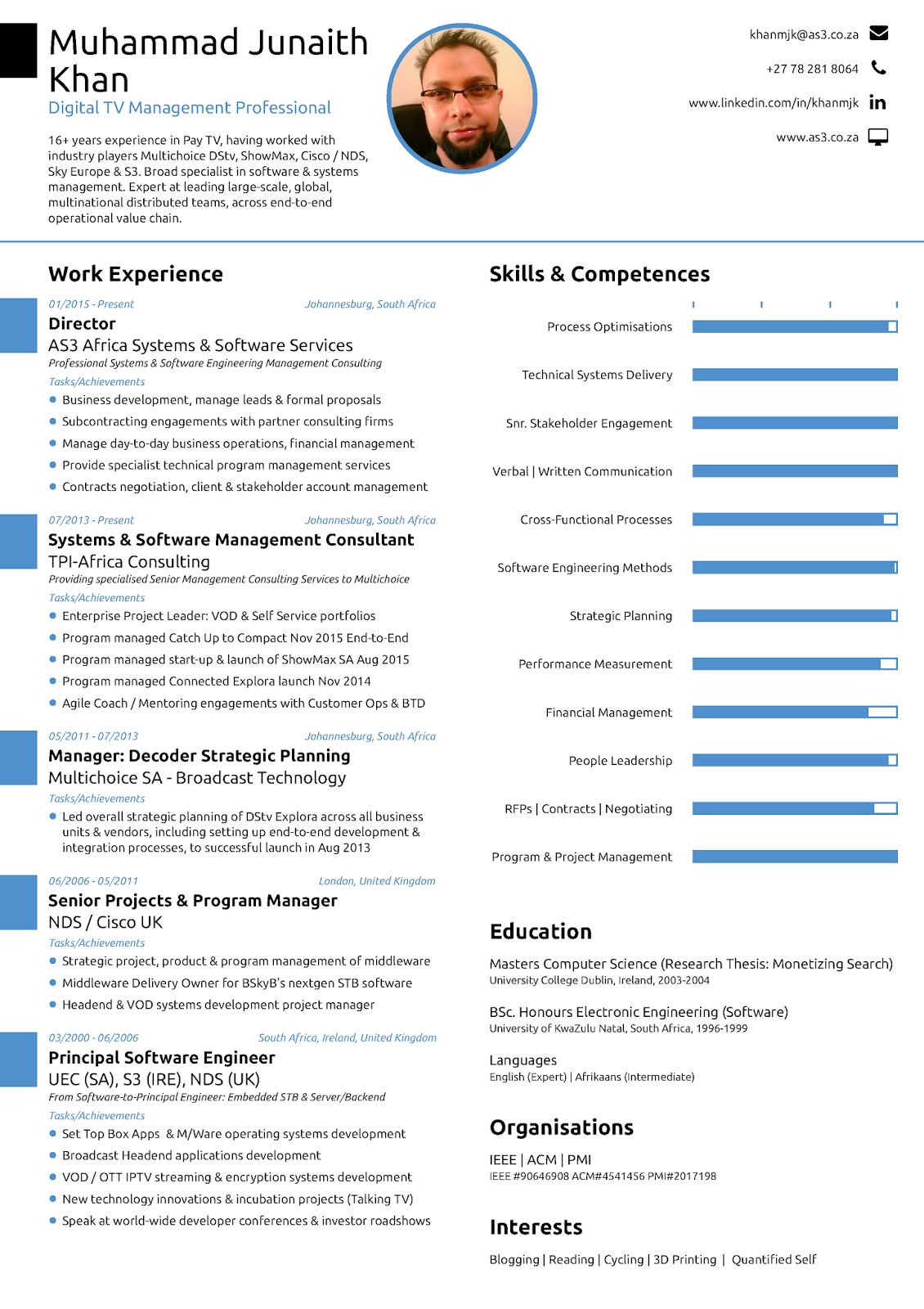 resume created using novoresume - Novo Resume