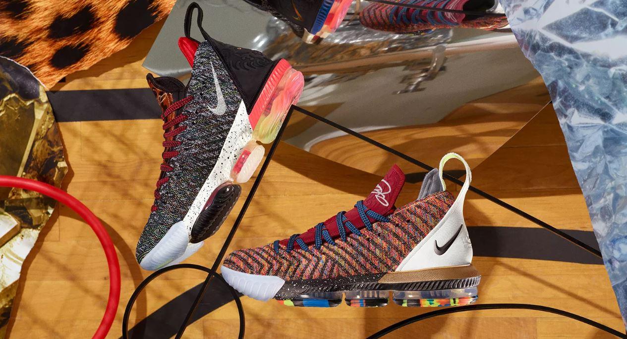 best service 0ebc4 31726 THE SNEAKER ADDICT: Nike What the Lebron 16 1 Thru 5 Sneaker ...