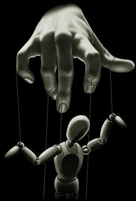 manipulação, controle, reflexão