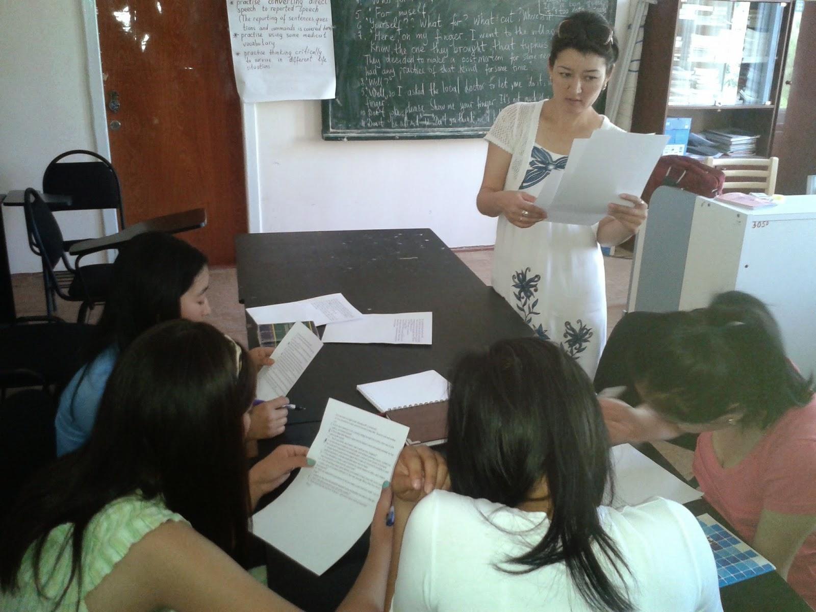 Advanced course for teachers
