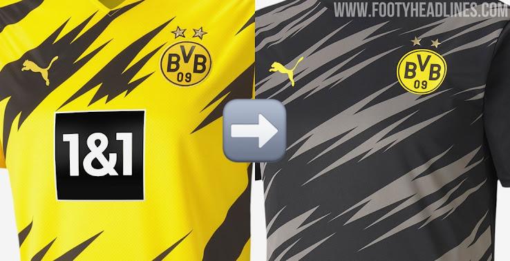 Home Kit Design Borussia Dortmund 20 21 Home Pre Match Shirt Leaked Footy Headlines