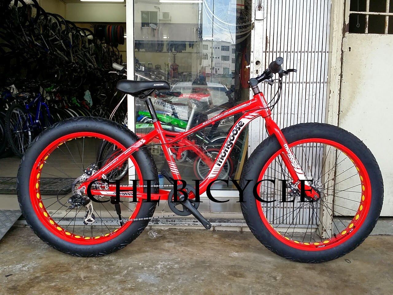 choo ho leong chl bicycle 26 mongoose fat bike. Black Bedroom Furniture Sets. Home Design Ideas