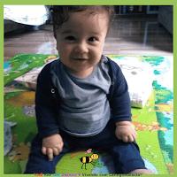 Miguel com oito meses