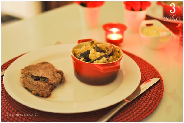 jantar especial namorada