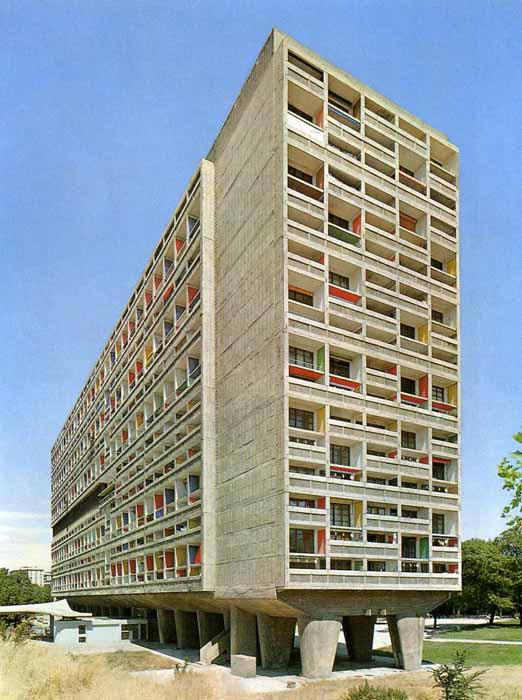 Un d a una obra le corbusier unidad de habitaci n en marsella - Arquitecto le corbusier ...