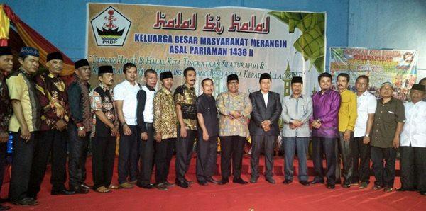 Suhatri Bur Ajak PKDP Merangin Bangun Kampung Halaman