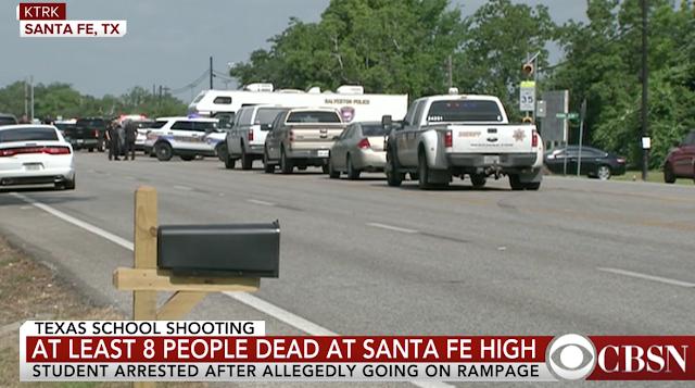 """It is real"": Santa Fe High School shooting witnesses describe frantic scene"