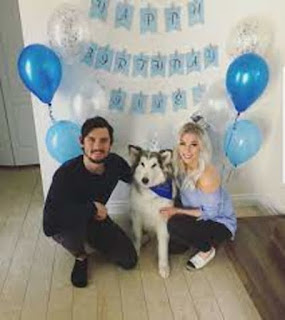 Connor And Marie With Their Dog
