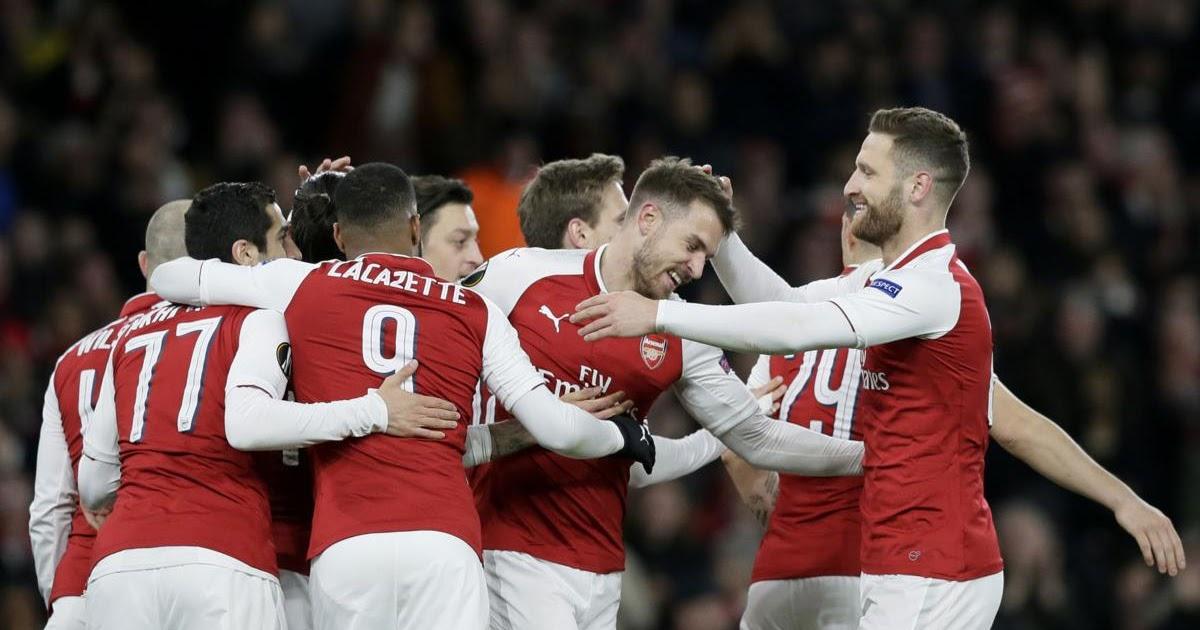 Gunners gun down CSKA moscow to push toward Europa League semis