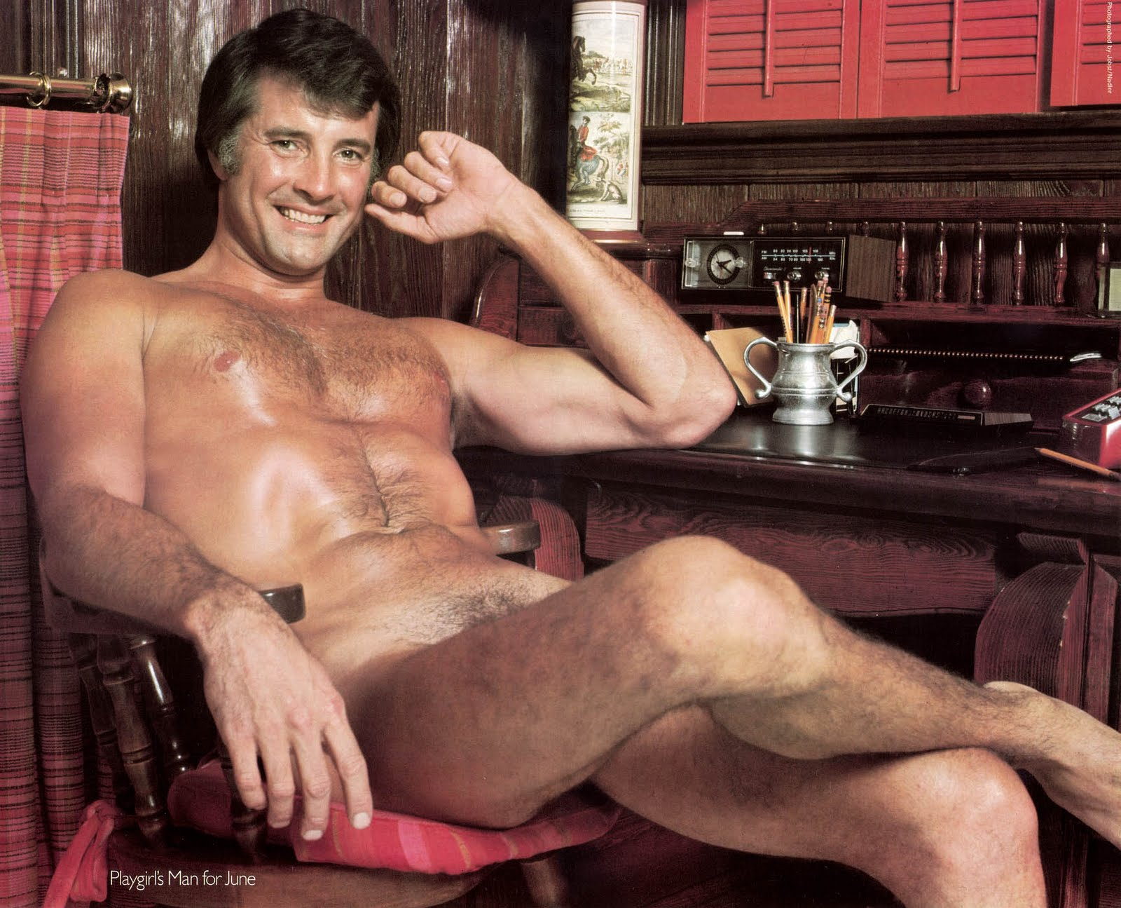 George centerfold christopher playgirl