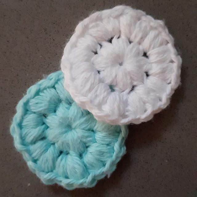 Crochet face pads