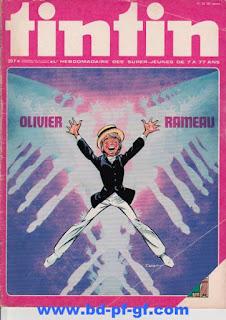 Tintin numéro 50, 1975, Olivier Rameau