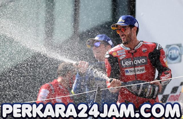 Andrea Dovizioso Pantas Dicap Juara Karena Menangi MotoGP Austria