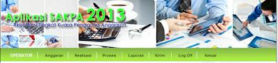 Installer Aplikasi SAKPA 2013