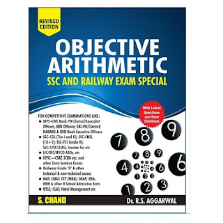 Objective Arithmetic S Chand for SSC & Railway