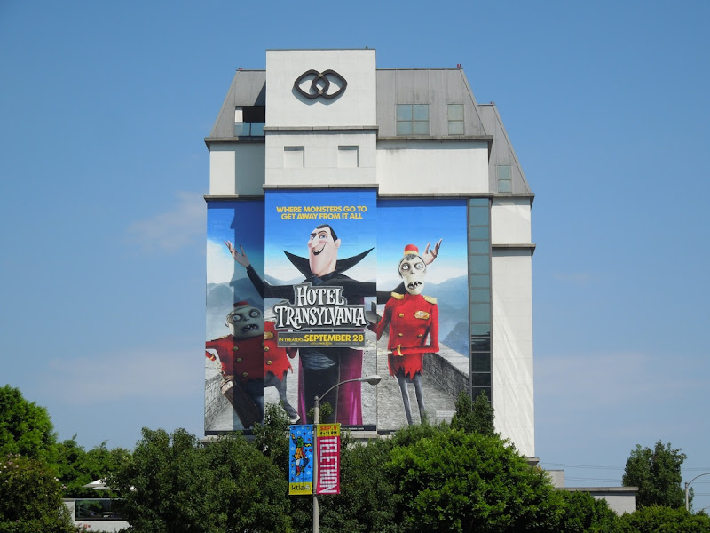 Hotel Transylvania movie billboard