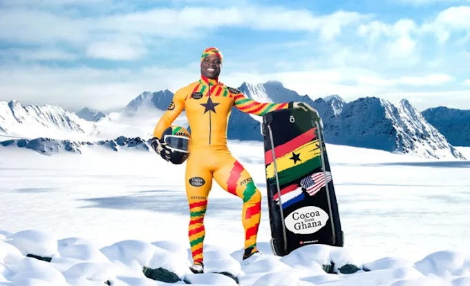 Ghanaian Olympian, Akwasi Frimpong Prepares For His First Race Of The New Skeleton Season