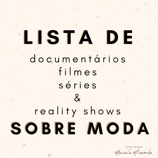 filmes e documentários sobre moda
