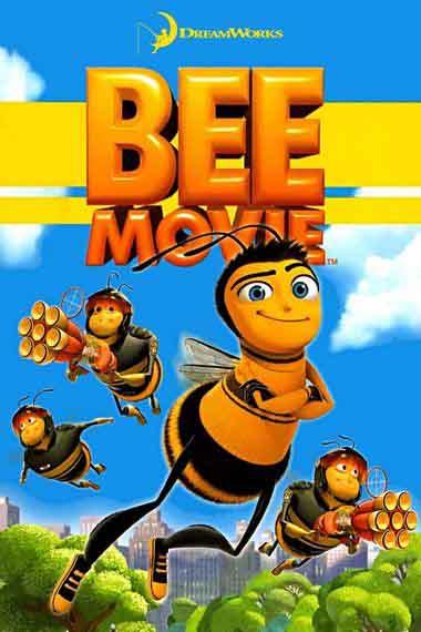 Bee Movie 2007 480p 300MB BRRip Dual Audio [Hindi - English] MKV