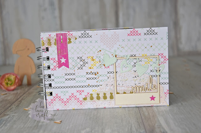 lu luu craft mini album scrapbooking