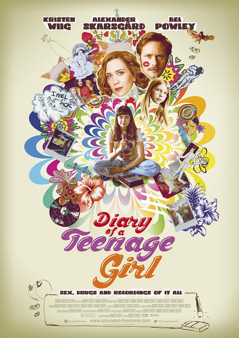 The Diary of a Teenage Girl (2015) บันทึกรักวัยโส [HD][พากย์ไทย]