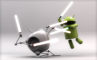 Apple Fight With Android With Electric Stick