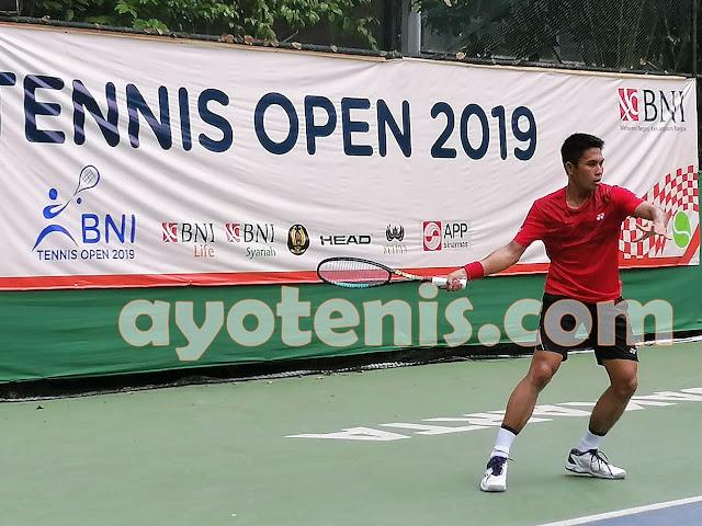 Tole Pijakkan Kaki ke Semifnal Turnamen Tennis Open di Jakarta